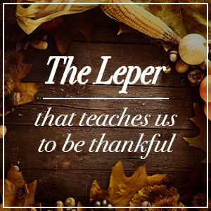 Thankful Leper